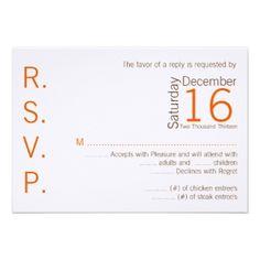 wedding rsvp cards