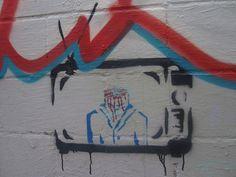"""Freedom of Opinion"" - Street Art"