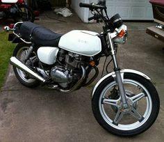 1978 Honda Hawk 400 Twin Motorcycle.