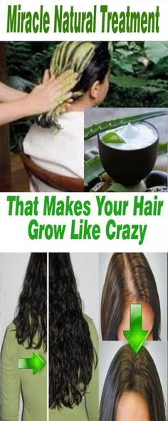 MIRACLE NATURAL TREATMENT THAT MAKES YOUR HAIR GROW LIKE CRAZY Amazing Attractive HairTrick