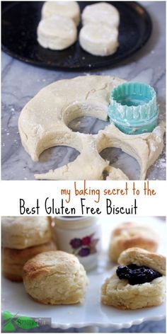 How to Make a Homemade Southern Fluffy Gluten Free Biscuit using my secret ingredient that rivals my original buttermilk biscuit. Gluten Free Biscuit, Fluffy and great tasting. Gluten Free Diet, Foods With Gluten, Gluten Free Cooking, Gluten Free Breakfasts, Gluten Free Desserts, Dairy Free Recipes, Dessert Recipes, Diet Recipes, Recipes Dinner