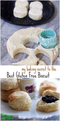 Gluten Free Biscuits, Gluten Free Treats, Gluten Free Diet, Foods With Gluten, Gluten Free Cooking, Gluten Free Desserts, Dairy Free Recipes, Diet Recipes, Bariatric Recipes