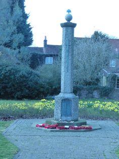 Leverstock Green war memorial, Hemel Hempstead, Hertfordshire