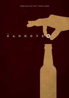 The Hangover (2009) ~ Minimal Movie Poster by E. Novazheev #amusementphile
