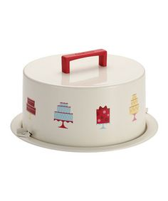 Love this Mini Cakes Cake Carrier by Cake Boss on #zulily! #zulilyfinds