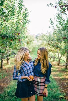 Picking Apples in an Apple Orchard At Apple Hill With My Sis: Fall Winter Outfits, Autumn Winter Fashion, Autumn Fall, Preppy Style, My Style, Topshop Skirts, Mode Chic, Gal Meets Glam, Fall Wardrobe
