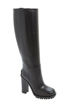 Gucci 'Ana' Lug Boot (Women) available at Heeled Boots, Bootie Boots, Shoe Boots, Shoes Heels, Knee High Boots, High Heels, Gucci Shoes, Gucci Gucci, Boot Brands