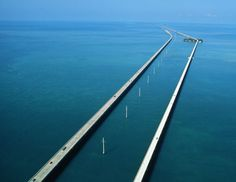 seven mile bridge on the way to key west - FREEDOM!  the only time I tangibly felt like I was unplugged and unreachable...