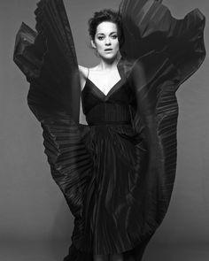 Marion Cotillard, photographed byJan Welters for Dior, 2014.