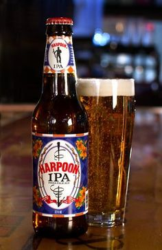 Harpoon Brewery IPA. A solid IPA with good flavor. Not amazing, but enjoyable.