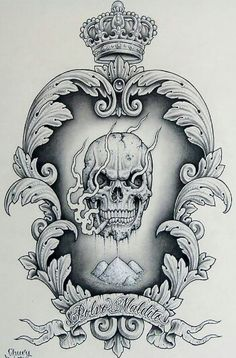 I don't care for the style of the skull, but the design nice