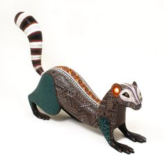 Oaxacan Woodcarvings Jacobo Angeles Otter