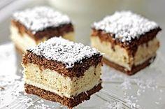 Ciasto miodowe z masą budyniową