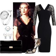 """The """"Lisa Freemont"""" Look (3) by injie-anis on Polyvore featuring Roland Mouret, Jimmy Choo, Georg Jensen, Tiffany & Co. and PolyvoreTrendReport"""