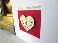 Check out this item in my Etsy shop https://www.etsy.com/uk/listing/471074656/4th-anniversary-card-1st-2nd-3rd-5th-6th