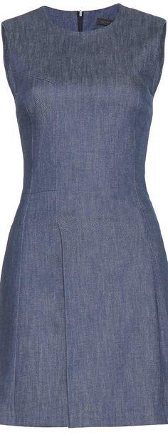 Victoria Beckham  ● Denim Shift Dress