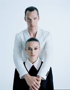 Benedict Cumberbatch and Kiera Knightly