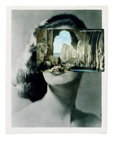 John Stezaker, who creates collages from images found in books, magazines and postcards, gives a brief insight into his Festival show Art Du Collage, Collage Artists, Face Collage, Collage Portrait, Painting Collage, Photomontage, Michel Leiris, Collages, John Stezaker
