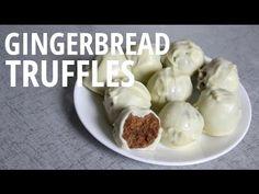 3-Ingredient Gingerbread Cookie Truffles