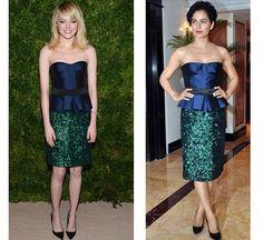 #Bollywood Vs #Hollywood – 25 Outfits Bollywood Copied from Hollywood: #KanganaRanaut and #EmmaStone in Burberry