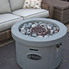 Check out the Urban Series Storm Grey Fire Pit from Family Leisure! Family Leisure, Outdoor Rooms, Outdoor Decor, Fire Pit Backyard, Magic, Urban, Led, Check, Exterior