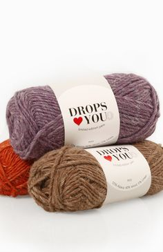 This week our new DROPS ♥ You #4 will hit the shops! A fine combination of alpaca, wool and linen: http://www.garnstudio.com/lang/us/dropslovesyou.php?id=4 #garnstudio #yarn