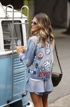 Personalized denim is living a moment. DIY patched denim trend is a must-have for SS 2016 season.