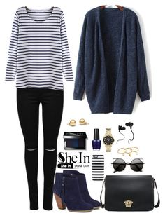 """""""Shein 3."""" by amra-f ❤ liked on Polyvore featuring Sole Society, Kate Spade, Monster, Marc by Marc Jacobs, Rebecca Minkoff, Bobbi Brown Cosmetics and OPI"""