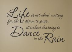 Raindrops Falling From the Sky | This Is My Now: Live-Laugh-Love: Here Comes the Rain Again...
