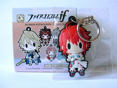 Hinoka Fire Emblem Fates rubber keychain strap figure from shinyv Hinoka Fire Emblem, Fire Emblem Fates, Rubber Keychain, Crazy Games, Anime Nerd, Ethnic Print, Imagination, Video Game, Goth