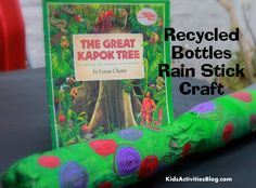 {Recycled Craft} Paper Mache Rain Stick