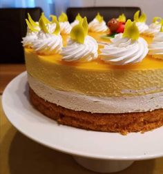 Cake Recipes, Dessert Recipes, Pavlova, Confectionery, Macarons, Mousse, Panna Cotta, Mango, Clean Eating