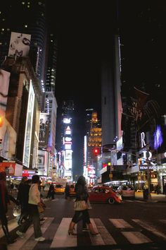 Time Square at Midnight