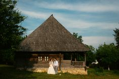 Iulia-Andrei-traditional romanian wedding_land of white deer Romanian Wedding, Modern Traditional, Civilization, Getting Married, Gazebo, Marriage, Museum, Outdoor Structures, Deer