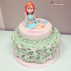 Winx cake by Cakemesweet di Naike Lanza  Www.cakemesweet.com Http://facebook.com/sweetcakemenay