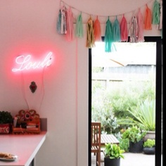 So girly! I love an eclectic girly bathroom! Great idea!