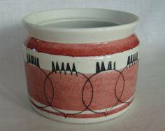 Vintage Rörstrand / Picknick / jar / pot for beetroots / Marianne Westmann 50s - 60s