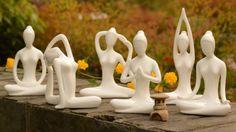 Online Shop Wholesale simple home decoration pottery ornaments yoga zen ceramics yoga gift jewelry wedding room Decoration Yoga Decor, Ceramic Decor, Ceramic Art, Wedding Room Decorations, Decor Wedding, Cheap Room Decor, Decor Diy, Decor Crafts, Decor Ideas