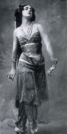 Vintage Belly Dancer..