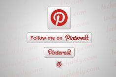 Add Pinterest Follow button to Website / Blog
