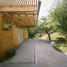 Scandinavian Retreat: Plywood annex