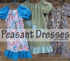 Threading My Way: Peasant Dresses...