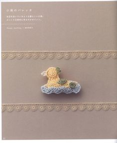 Crochet accessories  Crochet accessories, mostly for hair, Japanese design #Japanese #crochet #book