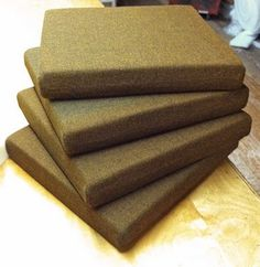CUSHION WORKS: Mid Century Modern Cushions - Keep 'em Flat