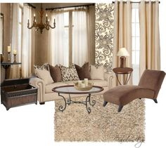 """Living Room Decorating Ideas on a Budget - """"Living Room #5"""" by fabulousego on Polyvore"""