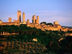 Poster of San Gimignano, Tuscany, Italy Photographic Print by John Elk III at AllPosters.com $29.99