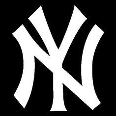NY Yankees Logo Vinyl Decal Sticker new york baseball sports jeter 090