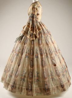 Robe 'Cachemire' - France - Vers 1855