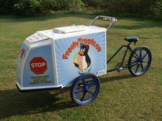 Frosty Treats ice cream bike 1