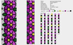 20 around tubular bead crochet rope pattern Crochet Bracelet Pattern, Crochet Beaded Necklace, Loom Bracelet Patterns, Bead Crochet Patterns, Bead Crochet Rope, Seed Bead Patterns, Jewelry Patterns, Beading Patterns, Beads And Wire